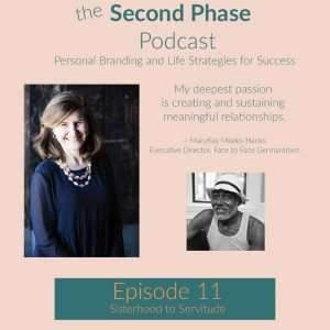 Episode 11 of The Second Phase Podcast with MaryKay Meeks-Hank of Face to Face German