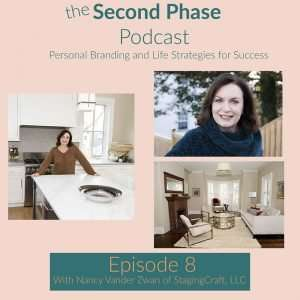 nancy vander zwan is a professional home stager. In episode 8 Nancy tells us why you need a professional home stager if you are moving.