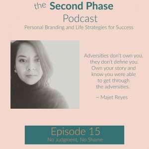 Majet Reyes was interviewed on The Second Phase Podcast. We talked about trauma, adversity, resiliency, and so much more.