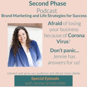 Jennie Schottmiller visits The Second Phase Podcast to explain the Cares Act during Corona Virus.